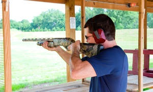 Frontline Defense Firearms Training Center and Range LLC: 5- or 10-Hour Shooting-Range Practice at Frontline Defense Firearms Training Center and Range LLC (Up to 54% Off)