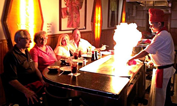Yue-Sun Restaurant - Wood Dale: Sushi and Japanese Hibachi Steaks at Yue-Sun Restaurant (Up to Half Off). Three Options Available.