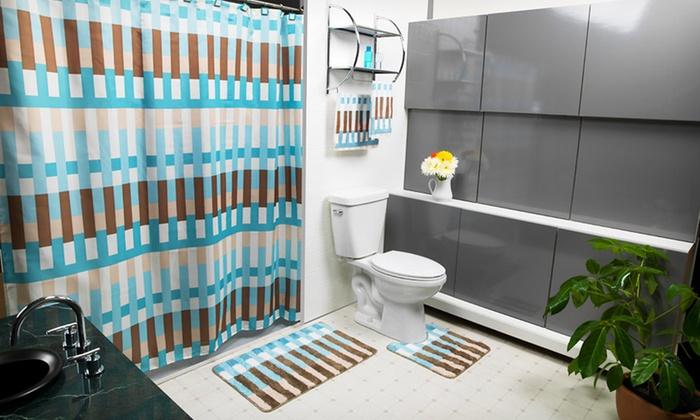 17 Piece Bathroom Set