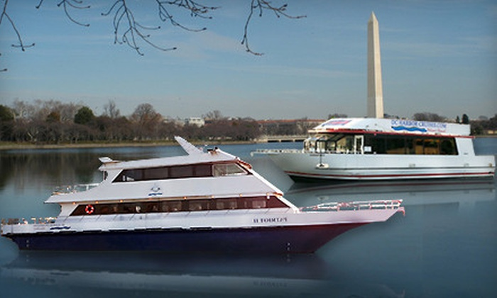 DC Harbor Cruises - Multiple Locations: Happy-Hour and Sightseeing Cruises on the Potomac River from DC Harbor Cruises (Up to 55% Off)