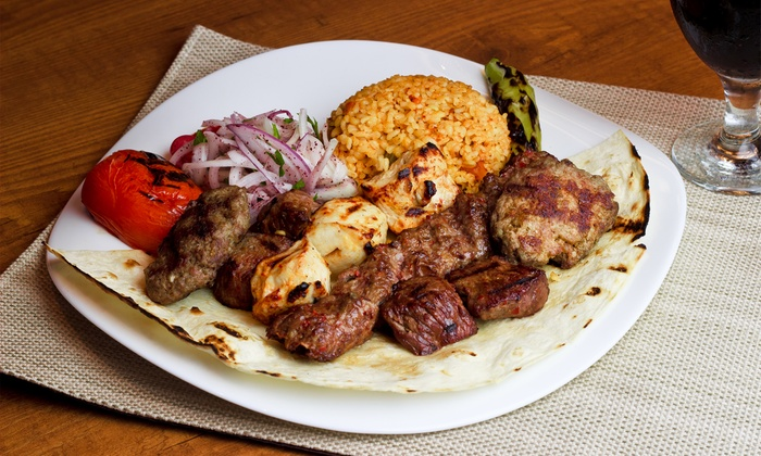 RoccA Cafe & Lounge - Sheepshead Bay: Mediterranean and American Fusion Food at RoccA Cafe & Lounge (50% Off). Two Options Available.