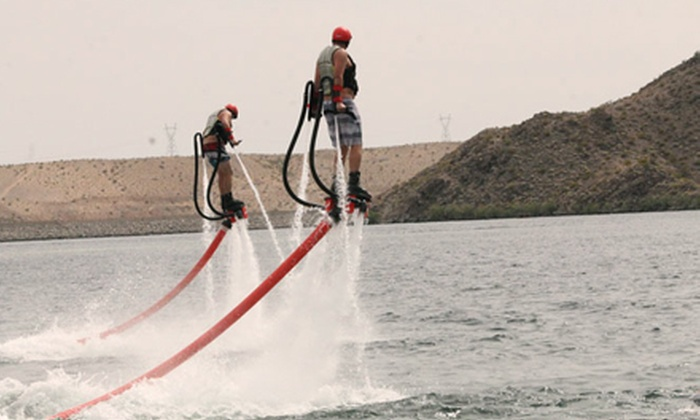 Action Aqua Flight - Dana Point: Flyboarding Experience with Harbor Cruise and Take-Home Video from Action Aqua Flight (Up to Half Off)