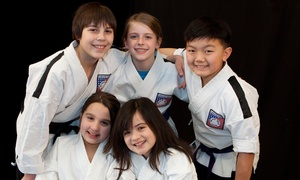 Karate West: One-Month Beginner's Karate Package with Uniform for One or Two at Karate West (Up to 88% Off)
