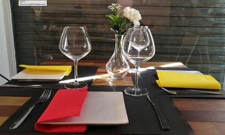 Menú belga-francés para 2 o 4 personas con entrante, principal, postre o café y bebida desde 24,95 € en Al Belgicano