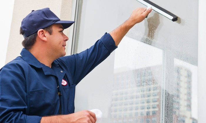 Window cleaning glass guys groupon for 2 good guys window cleaning