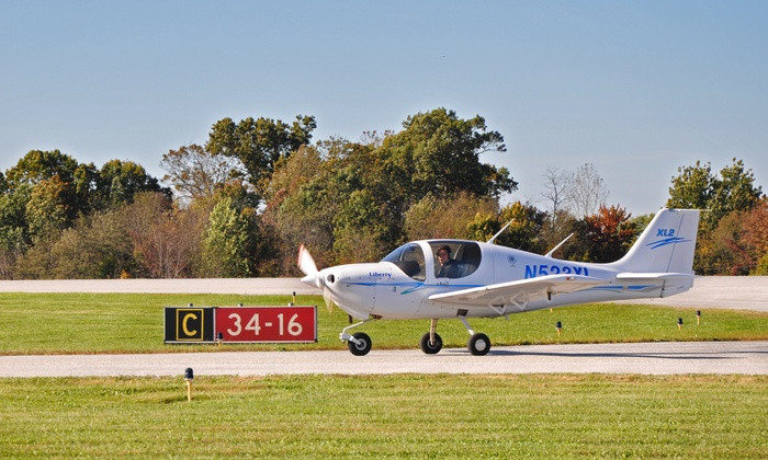 Dream Flight School - Westminster: $99 for Discovery-Flight Package with Ground Instruction and Logbook from Dream Flight School ($198.47 Value)