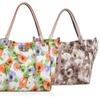 Ruby Blue Couture Megan Women's Floral Print Tote Bag