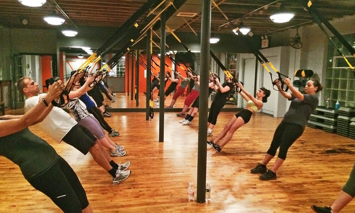 Workout Factory - Hunters Point: Three or Five Group Fitness Classes at Workout Factory (Up to 47% Off)