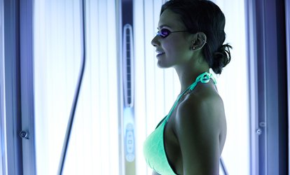 Spray or Booth <strong>Tanning</strong> Sessions at Darque Immersion (Up to 63% Off)