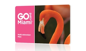 Go City Card: South Florida Explorer Pass includes admission to 3, 4, or 5 attractions from 25+ options. Pay Nothing at The Gate.