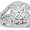 2.01 CTTW Diamond Ring in 14K White Gold