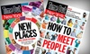 """""""Time Out New York"""" Magazine: $15 for a One-Year Print Subscription to """"Time Out New York"""" Magazine ($29.99 Value)"""