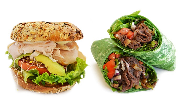 Bagel Bistro - Fullerton: $18 for Three Groupons, Each Good for $10 Worth of Food at Bagel Bistro ($30 Value)
