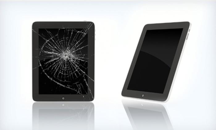 The SmartPhone Clinic - Aventura: Glass Repair for iPhone or iPad or $25 for $50 Worth of Smartphone Repair at The SmartPhone Clinic