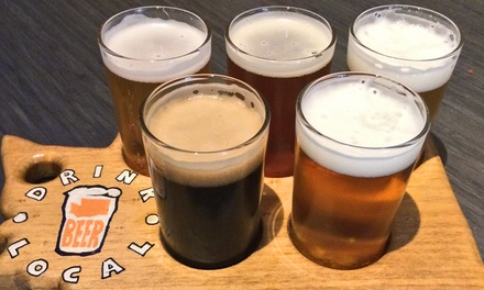 Local Tasting Flights and Mini Golf or Private Party at Flatstick Pub (Up to 50% Off). Four Options Available.