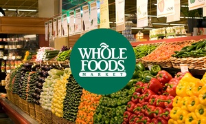 Groupon - $5 for a $10 Whole Foods Market Digital Gift Card - $5