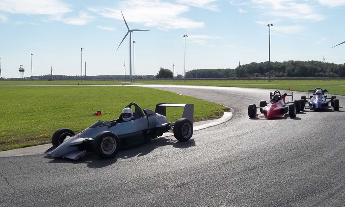 Toronto MotorSports Park - Leisure Offers - Toronto Motorsports Park: 5 or 10 Laps in an Indy Style Open Wheel Race Car at Toronto Motorsports Park (Up to 51% Off)