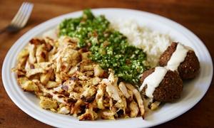 RadioBeirut: Menu tipico libanese con tè tipico e dolce per 2, 4 o 6 persone al ristorante RadioBeirut (sconto fino a 63%)