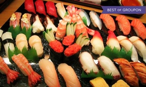 Mika Japanese Cuisine & Bar: All-You-Can-Eat Sushi & Drinks Dinner or Sushi & Teriyaki Lunch at Mika (Up to 37% Off)