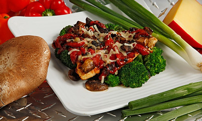 Muscle Maker Grill - Warren: Five Entrees or Salads or $10 for $20 Worth of Healthy Comfort Food for Two at Muscle Maker Grill