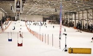SnowZone: Forfait de 4 h para 1 o 2 personas con opción a alquiler de equipo desde 14,95€ en Madrid SnowZone Xanadú