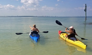 Kayak Valet: Two- or Four-Hour Kayak Rental for Two People at Kayak Valet (Up to 56% Off)