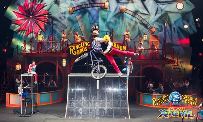 Ringling Bros. and Barnum & Bailey Presents Circus XTREME - Sun National Bank Center: <i>Ringling Bros. and Barnum & Bailey</i> Presents <i>Circus XTREME</i> on May 19 (Up to 32% Off)