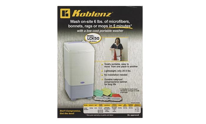 Koblenz Portable Electric Washing Machine: Koblenz Portable Electric Washing Machine