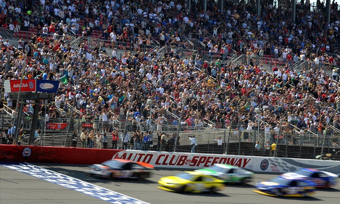 Auto Club 400 - Auto Club Speedway: $47 for One Ticket to the Auto Club 400 at Auto Club Speedway on Sunday, March 23, at 12 p.m. ($95 Value)
