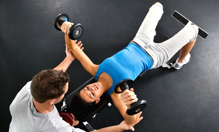 Three or Five Personal-Training Sessions at Boba Fitness (67% Off)