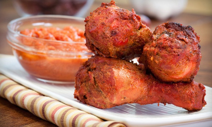 Tandoori Oven - Multiple Locations: Indian Meal with Appetizers, Entrees, and Drinks for Two or Four at Tandoori Oven (Up to 52% Off)