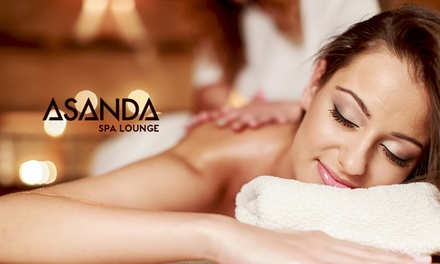 One or Two Signature, Deep-Tissue, Hot-Stone, or Stress-Fix Massages at Asanda Aveda Spa Lounge (Up to 54% Off)