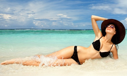 One, Three, or Two Custom Spray Tans at HealthiTan (Up to 54% Off)