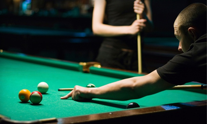 Chattanooga Billiard Club - Tyner - Greenwood: $13 for Two Hours of Pool for Two and a Super Sampler Platter at Chattanooga Billiard Club ($27.95 Value)