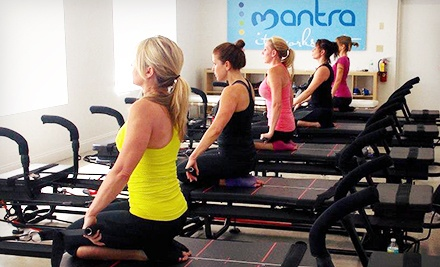 Three or Five Megaformer Pilates Classes at Mantra (Up to 61% Off)