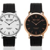 So & Co New York Men's Madison Casual Leather-Strap Watch