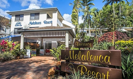 Palm Cove: Three-Night Tropical Escape for Two People at Melaleuca Resort