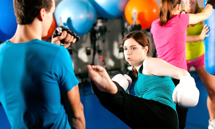 Cervizzis Martial Arts - Multiple Locations: 5 or 10 Kickboxing Classes at Cervizzis Martial Arts (Up to 71% Off)