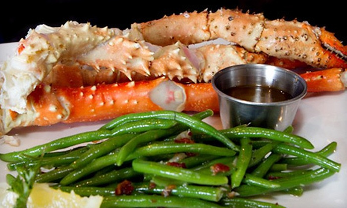 The Blu Crab Seafood House & Bar - Ridglea Hills: Seafood Cuisine for Lunch or Dinner at The Blu Crab Seafood House & Bar (Half Off)