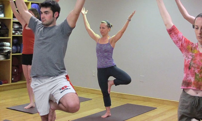 Simon Says Yoga - Bethesda: 10 Classes or One Unlimited Month of Yoga and Pilates Classes at Simon Says Yoga (Up to 67% Off)