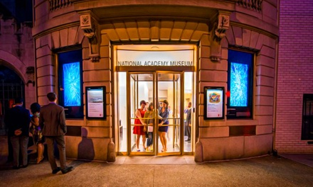 Art-Museum Membership or Visit for Two or Four at The National Academy Museum & School (57% Off)