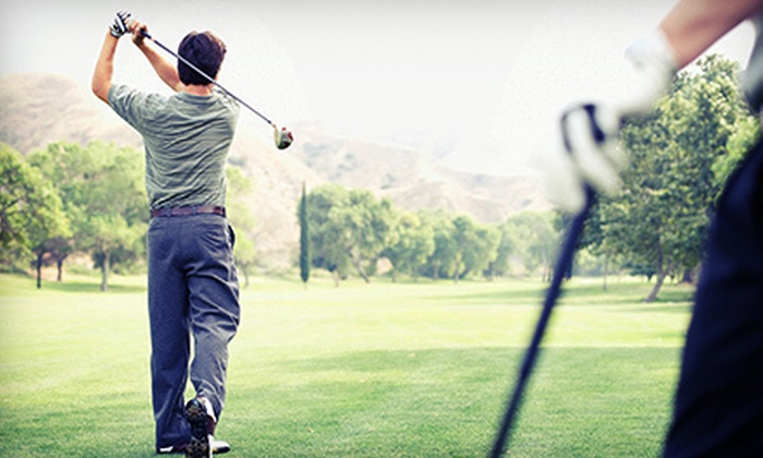 Terrace Lakes Resort - Garden Valley: 18-Hole Round of Golf for Two or Four with Cart Rental and Range Balls at Terrace Lakes Resort (Up to 56% Off)