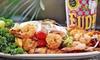 Fudpucker's Beachside Bar & Grill - Santa Rosa Island: $15 for $30 Worth of Seafood and American Fare at Fudpucker's Beachside Bar & Grill
