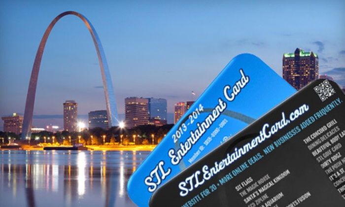 null - St Louis: $39 for an STL Entertainment Card for Discounts at Museums, Fun Centers, and Other Local Favorites ($100 Value)