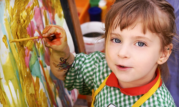 3Hues - Woodlake - Briar Meadow: $99 for a One-Week Kids' Summer Art Camp from 3Hues ($200 Value). Three Dates Available.