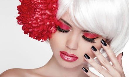 Full Set of Eyelash Extensions at Ruby's Skin Care (55% Off)