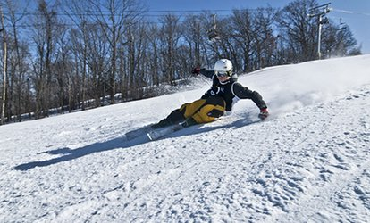image for Lift Ticket with Optional Equipment Rental or a Beginner Package or Tubing at Cascade Mountain (Up to 48% Off)