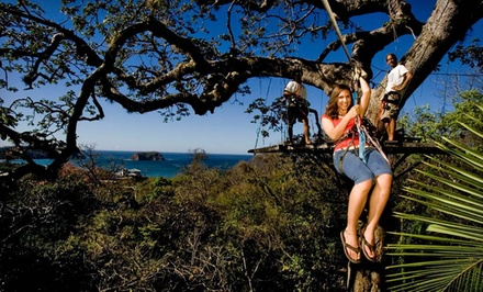 8-Day Costa Rica Adventure Tour with Hotels from Costa Rica Monkey Tours. Starting at $1,299 Total, $649.50 per Person.