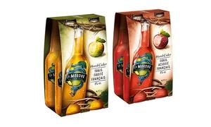 Hard Cider LA MORDUE: Profitez gratuitement de bons de réductions sur un pack La Mordue, valable dans toutes les enseignes de distribution