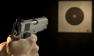 LAX Firing Range: Shooting-Range Package for Two or Four at LAX Firing Range (35% Off)